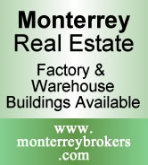 Monterrey Real Estate - Warehouse & Factory Buildings Available